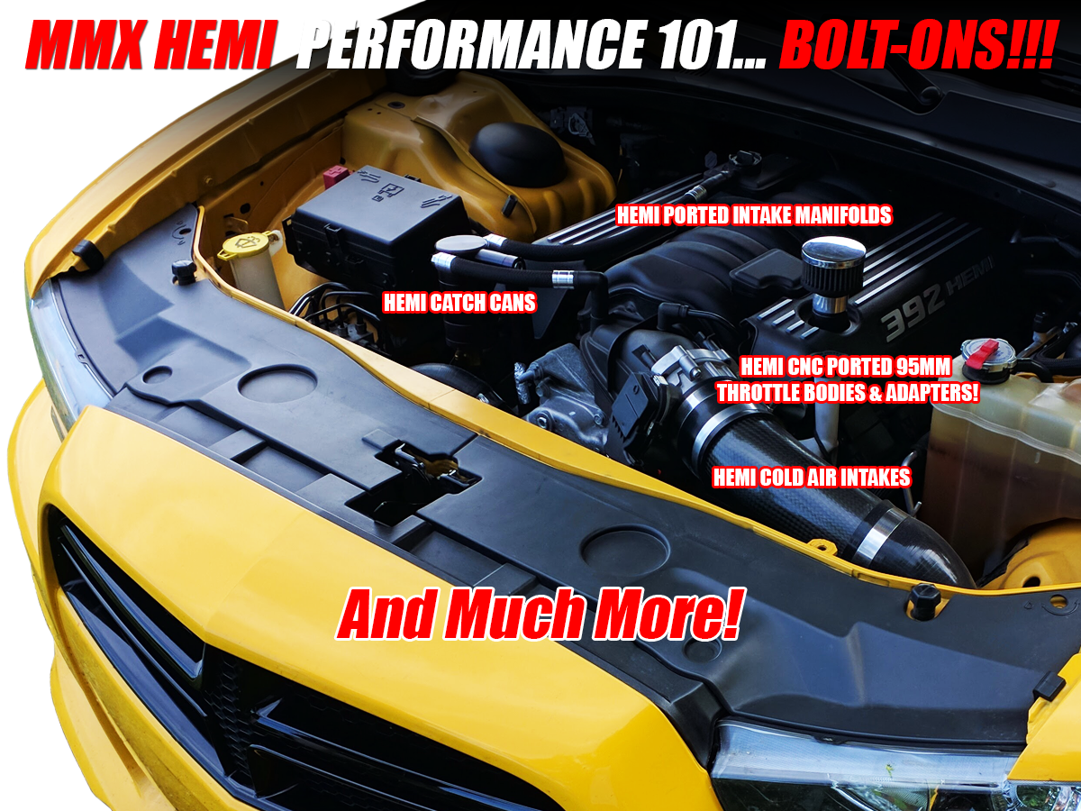 HEMI Performance Bolt-On Parts by Modern Muscle Performance / ModernMuscleXtreme.com