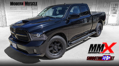 426 HEMI Hellcat Supercharged 2013 RAM 1500 Truck Build by MMX / ModernMuscleXtreme.com