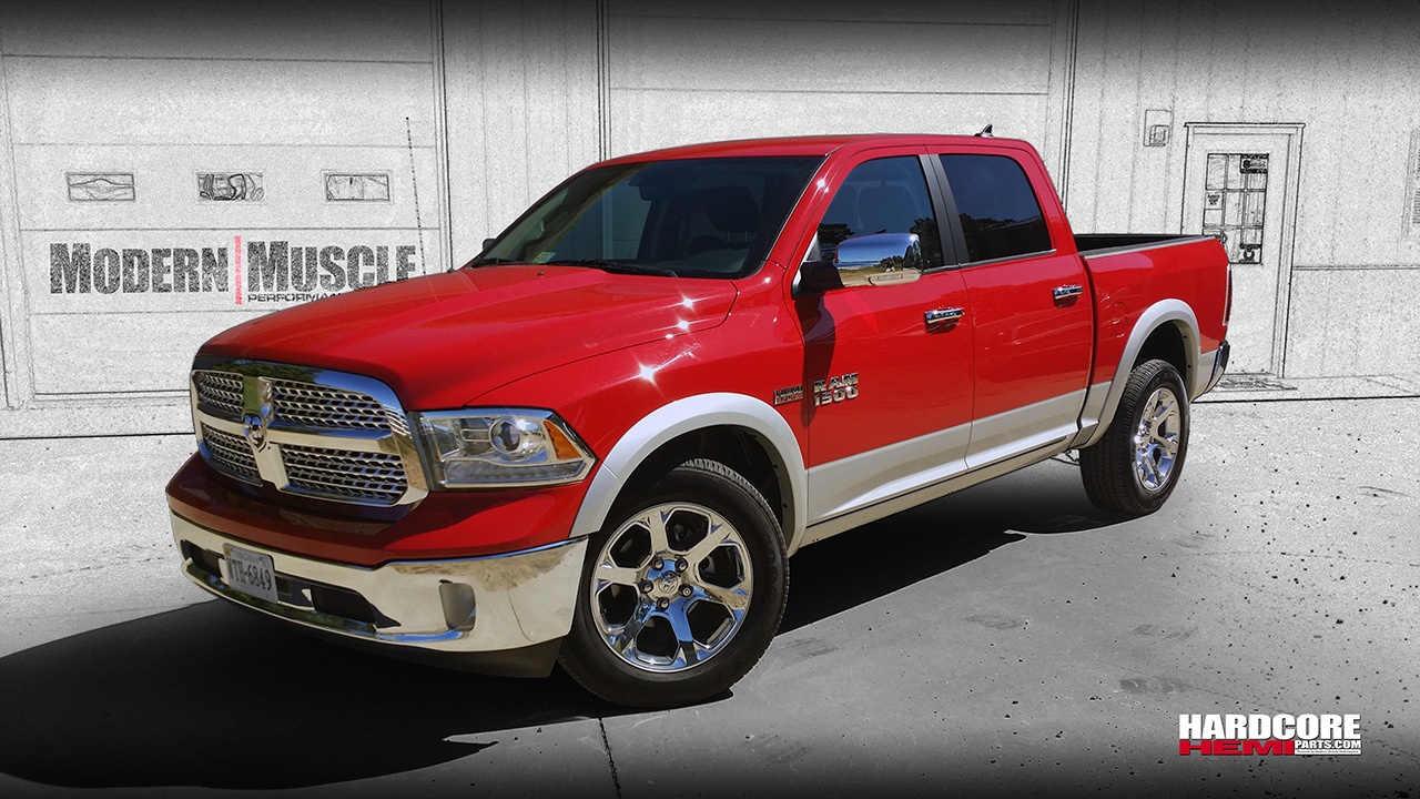 2014 5.7L HEMI Supercharged Ram Truck Build by Modern Muscle Performance