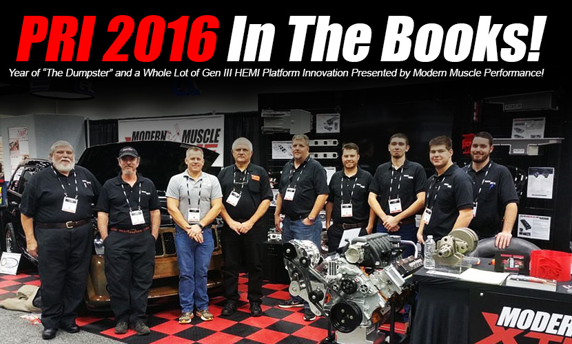 Modern Muscle Performance in full force at PRI 2016!