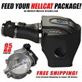 Hellcat aFe Cold Air Intake and 95mm Throttle Body Package by Modern Muscle Xtreme