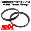 Pair of Axle ABS Tone Rings by Modern Muscle