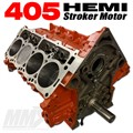 405 HEMI Stroker Engine Short Block - 6.1L Based by Modern Muscle Performance
