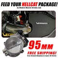 Hellcat Cold Air Intake LMI Edition and 95mm Throttle Body Package by Modern Muscle Xtreme
