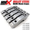 HEMI Billet Main Caps by Modern Muscle Performance