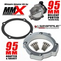 Hellcat 95mm Throttle Body Whipple Supercharger Intake Kit by Modern Muscle Performance
