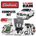 2015 - 2018 Dodge RAM 5.7L HEMI Supercharger Complete Kit by Edelbrock