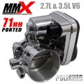 2.7L 3.5L V6 LX Ported Polished Throttle Body by Modern Muscle Performance