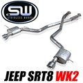 2012 - 2018 Jeep SRT8 WK2 Catback Exhaust by Stainless Works