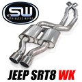 2006 - 2010 Jeep SRT8 WK Catback Exhaust by Stainless Works