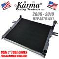 2006 - 2010 Jeep SRT8 WK1 Dual Core Radiator by Karma Racing Products