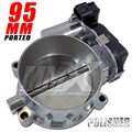 Hellcat Polished 95mm Ported Throttle Body offered by Modern Muscle Performance