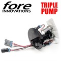 6.4L HEMI Jeep SRT8 WK2 Triple Pump Fuel System by Fore Innovations