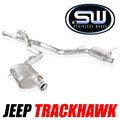 Trackhawk Catback Exhaust by Stainless Works