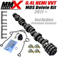 2011+6.4L HEMI MDS Lifter Delete Kit with 6.4 SRT Camshaft by MMX and Mopar for LX/LC/Jeep