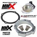 Hellcat 92mm Throttle Body Whipple Supercharger Intake Kit by Modern Muscle Performance
