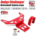 2015 - 2019 Challenger Hellcat and Demon Automatic Trans Driveshaft Safety Loop by BMR