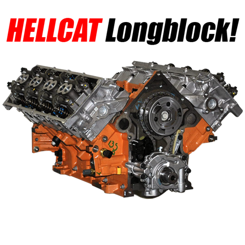 hellcat long block special    will work in all 09  5 7l
