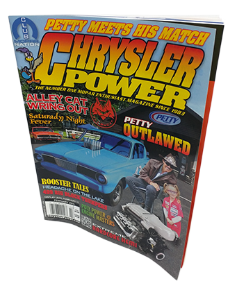 Modern Muscle Performance / ModernMuscleXtreme.com Featured in Chrysler Power Magazine