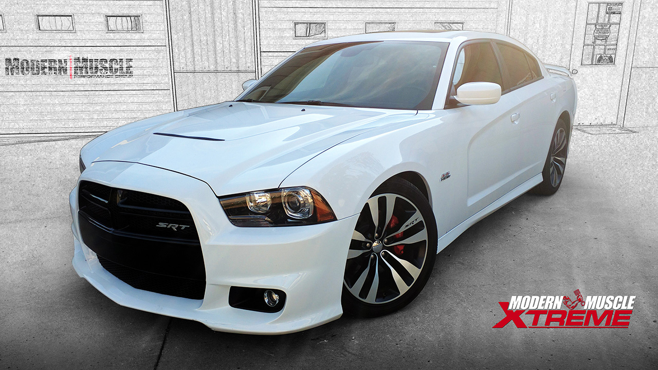 422 HEMI Stroker Engine Procharger Supercharged 2013 Charger Build by Modern Muscle Performance