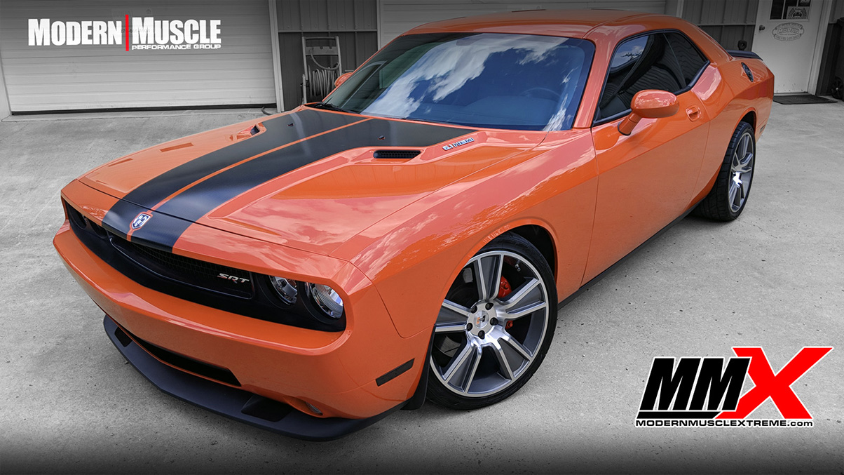 2008 Challenger 405 HEMI Stroker Build and Whipple Supercharged Build by MMX / Modern Muscle Performance