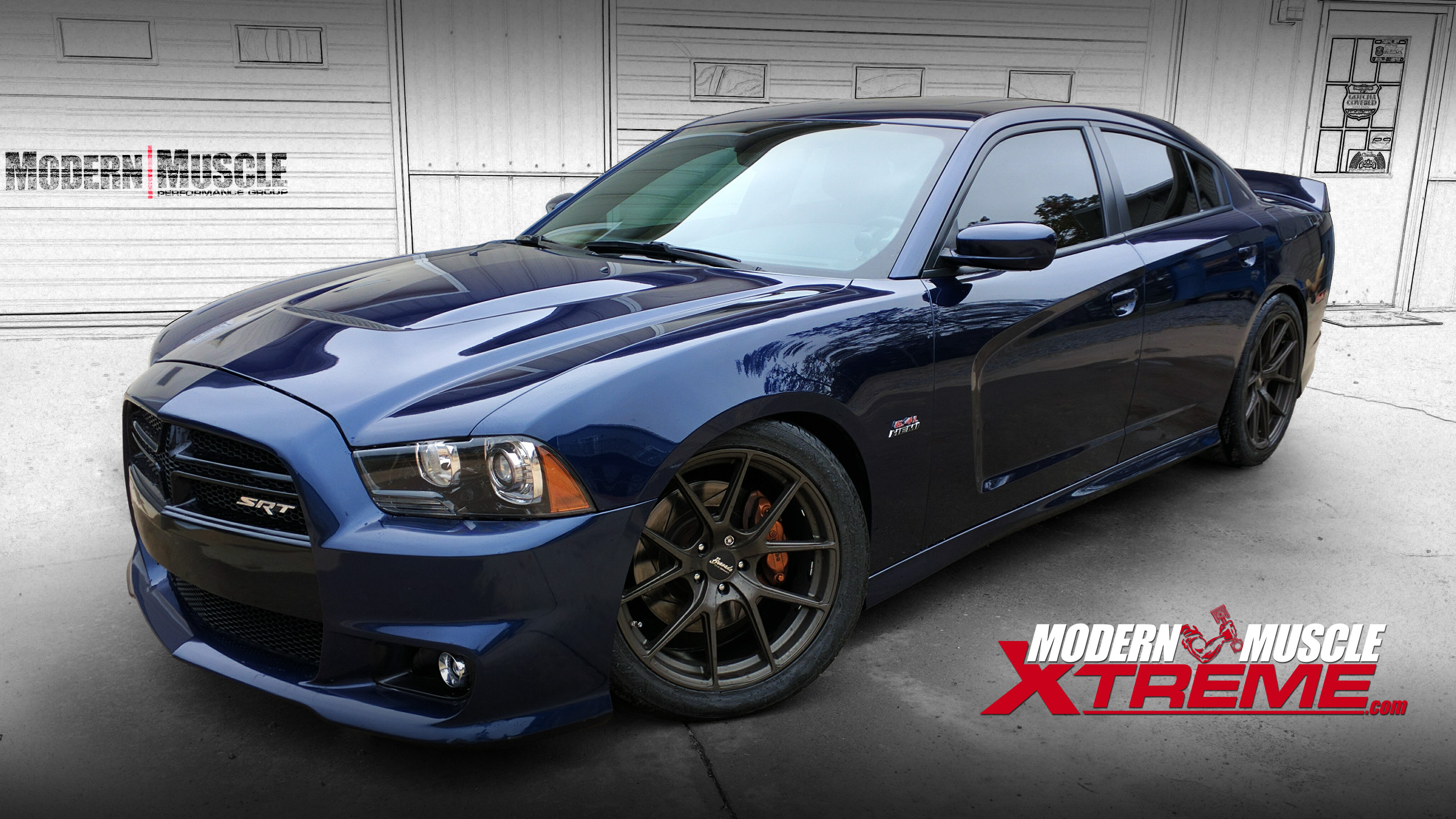 Forged 392 HEMI Engine Procharger Supercharged 2013 Charger Build by Modern Muscle Performance