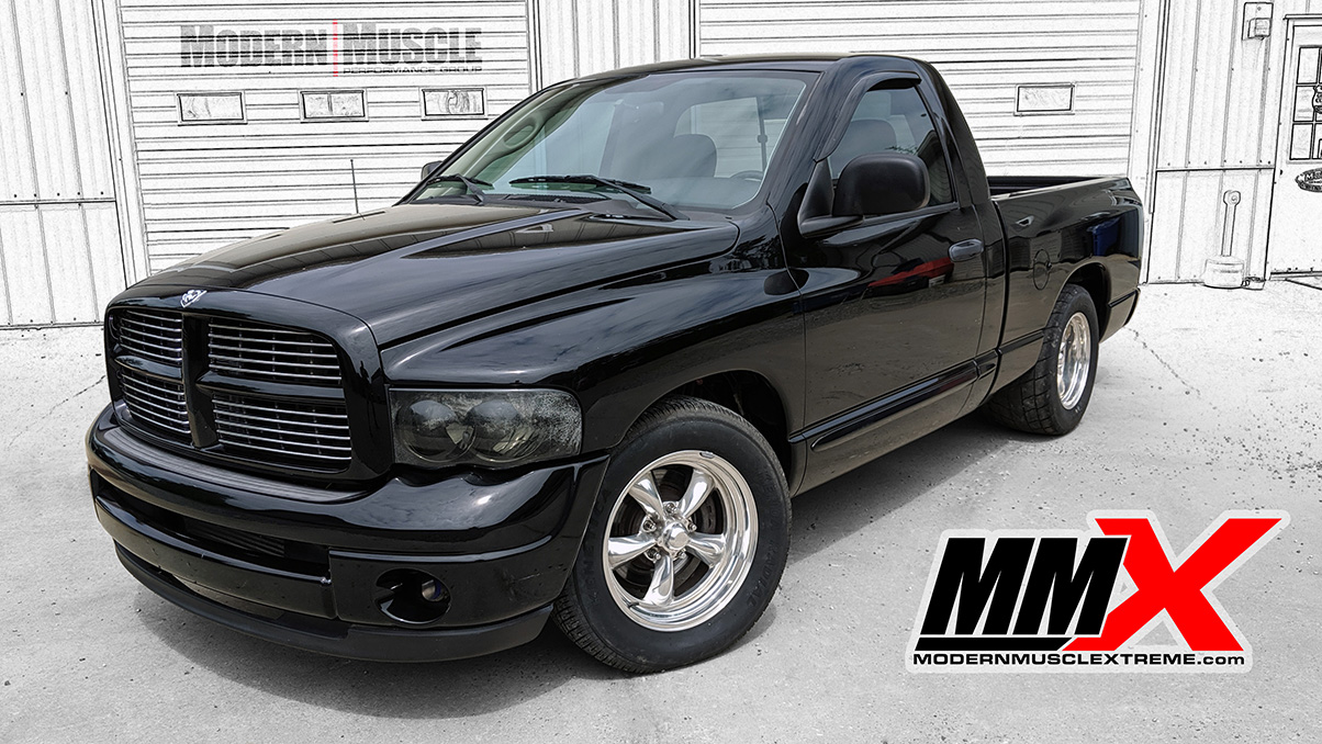 2004 RAM 5.7L Based HEMI Stroker Turbo Charged Project Refined by MMX / ModernMuscleXtreme.com