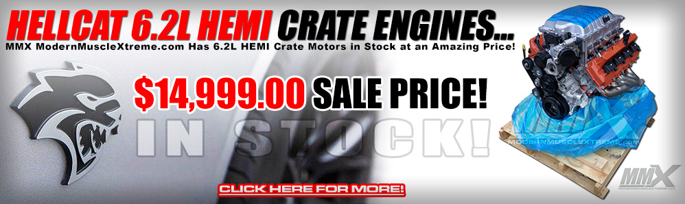 Hellcat Crate Engines at ModernMuscleXtreme.com!