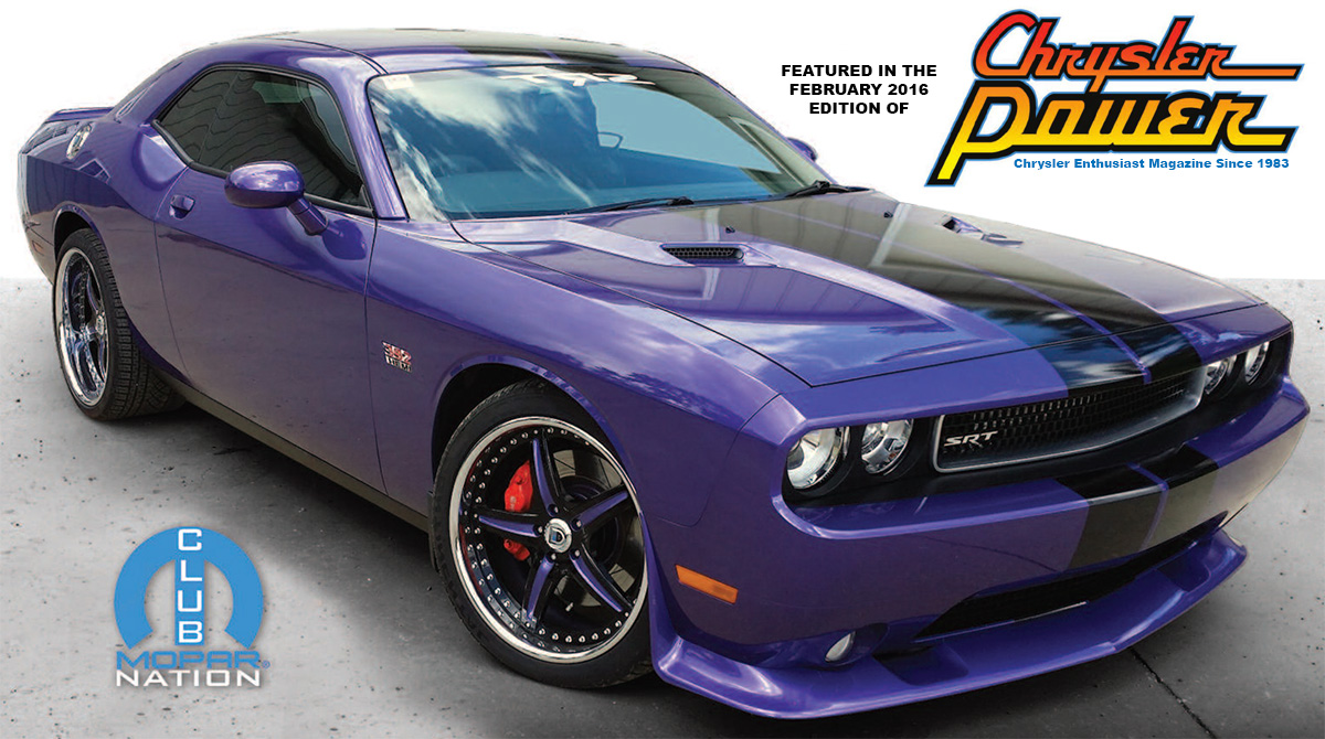Modern Muscle Performance / ModernMuscleXtreme.com Featured in Chrysler Power Magazine - February 2016 Edition