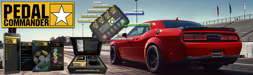 Pedal Commander for 5.7L HEMI Powered Vehicles