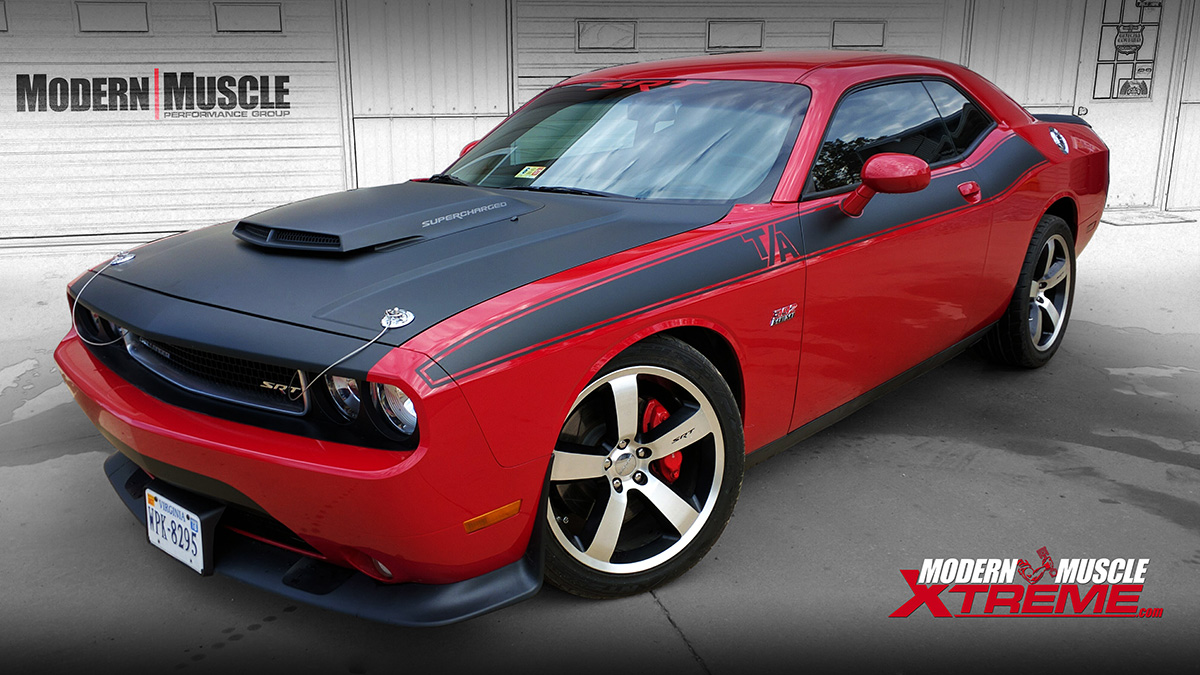 2012 Challenger Performance Exhaust Upgrades and More by Modern Muscle Performance