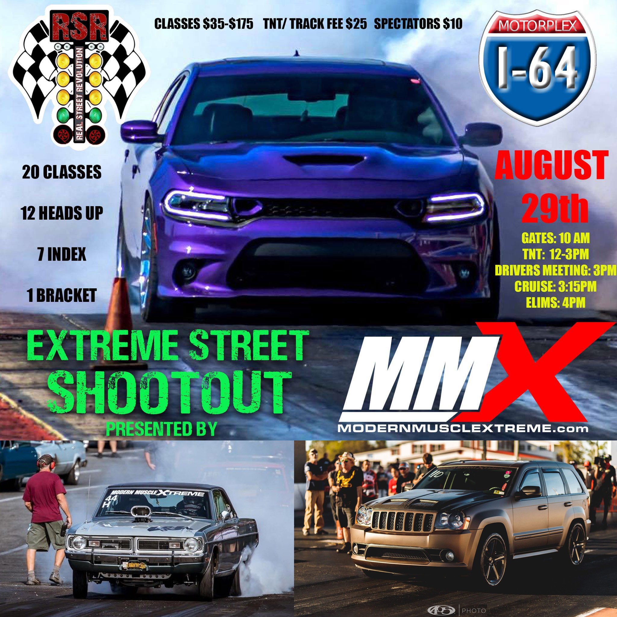 Real Street Revolution Extreme Street Shootout 2020 - I64 Motorplex, Owingsville, KY on August 29, 2020