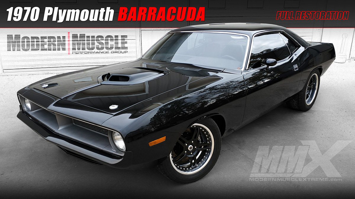 Gen 3 6.1L HEMI Powered 1970 Plymouth Barracuda Restomod Build by Modern Muscle Performance