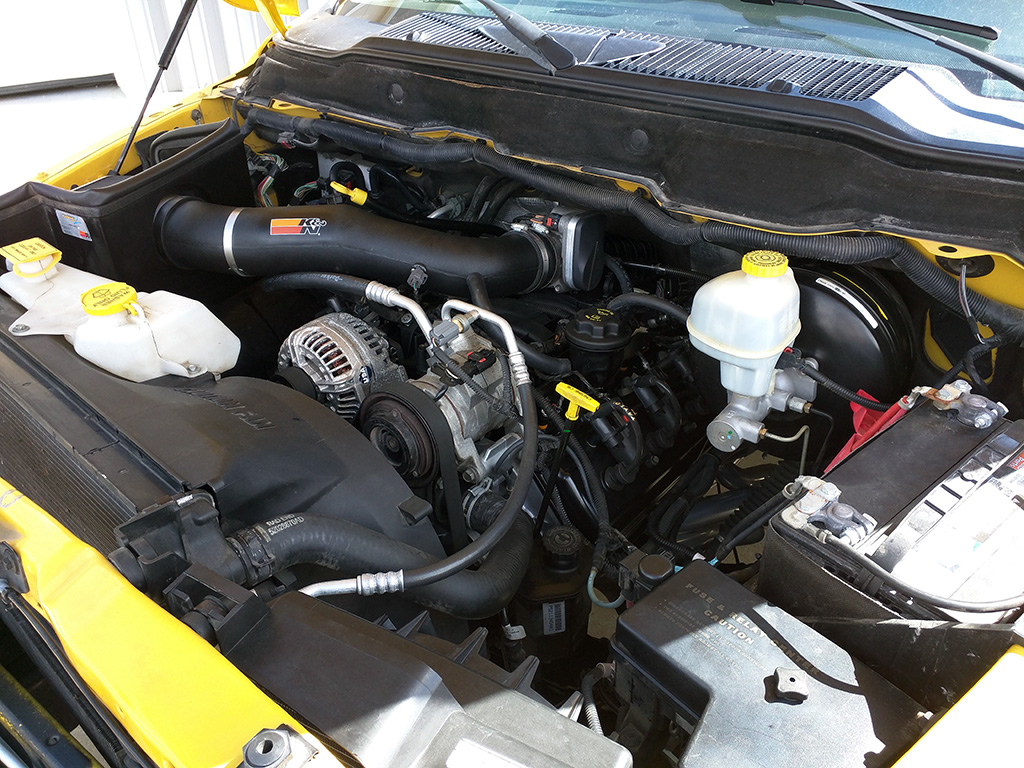 Mike's 2005 Dodge Ram Truck Build by Modern Muscle Performance / Modern Muscle Xtreme - engine bay