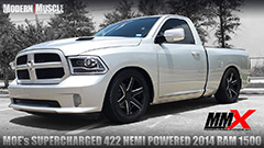 2015 Dodge RAM Truck 422 HEMI Stroker Build and Whipple Supercharged by MMX / ModernMuscleXtreme.com