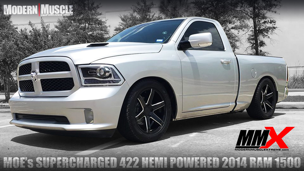 2014 Dodge RAM Truck 422 HEMI Stroker Build and Whipple Supercharged by MMX / ModernMuscleXtreme.com