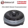 "11"" HP Series NAG1 Torque Converter by Circle D Specialties"