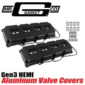 HEMI 5.7 6.4 Aluminum Valve Covers by Mr Gasket