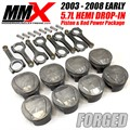 2003-2008 5.7L HEMI Forged 2618 Drop In Pistons and Rods Power Package by MMX