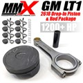 GM LT1 Forged Drop-In Pistons and Rods Package by MMX