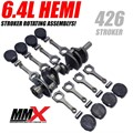 426 HEMI High Compression N/A 6.4L Based Stroker Kit by Modern Muscle Performance