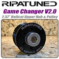 2.57 Inch Hellcat Supercharger Upper Pulley and Hub by Ripatuned