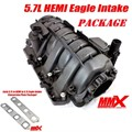 5.7L HEMI Eagle Intake with early 5.7 adapter package