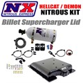 Hellcat Billet Supercharger Lid Nitrous Kit by Nitrous Express