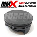 6.4L 392 SRT HEMI STD Bore 4032 Forged Drop In Pistons