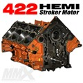 422 HEMI Stroker Engine Short Block - 6.4L Based by Modern Muscle Performance