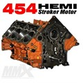 454 HEMI Stroker Engine Short Block - 6.4L Based by Modern Muscle Performance