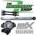 Jeep SRT8 WK2 Ford 9inch Rear Differential Conversion by DSS and MMX