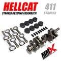 411 Hellcat 6.2L HEMI Based Stroker Kit by Modern Muscle Performance
