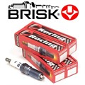6.4L HEMI Spark Plugs RR10S by Brisk Racing - 16 Plug Package